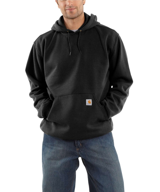 Carhartt K121 Men's Midweight Pullover Hooded Sweatshirt – Black