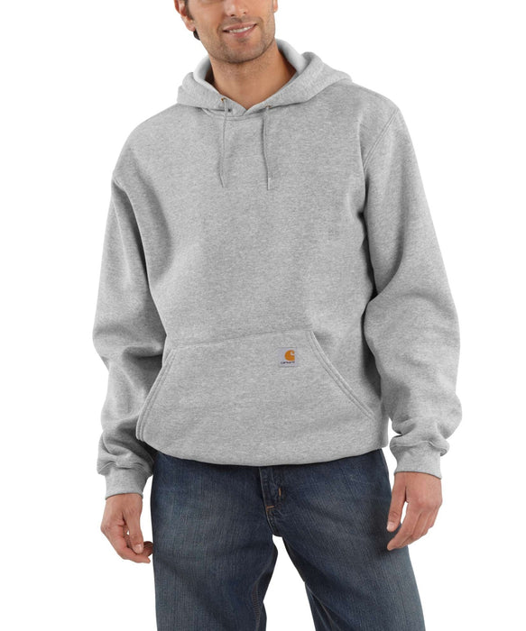 Carhartt Men's Midweight Pullover Hooded Sweatshirt - Heather Grey