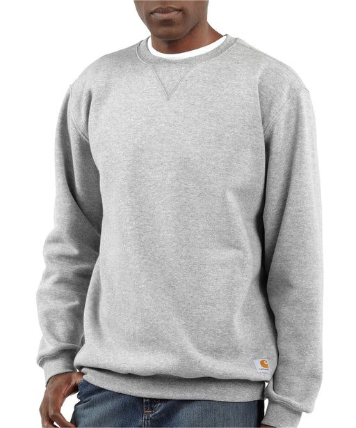 Carhartt Midweight Crewneck Sweatshirt – K124 – Heather Gray