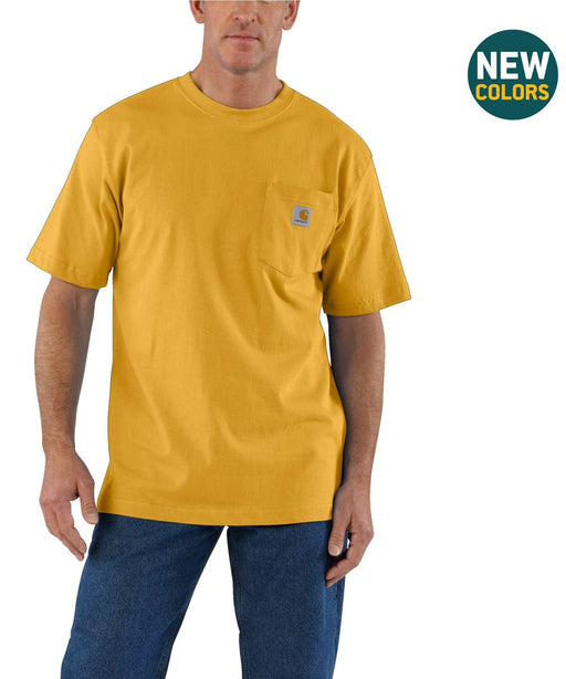 Carhartt K87 Workwear Pocket T-Shirt - Carhartt Gold Heather