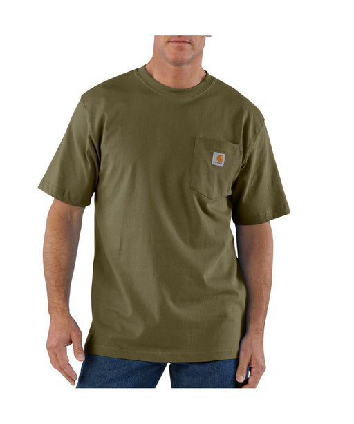 Carhartt K87 Workwear Pocket T-Shirt - Army Green