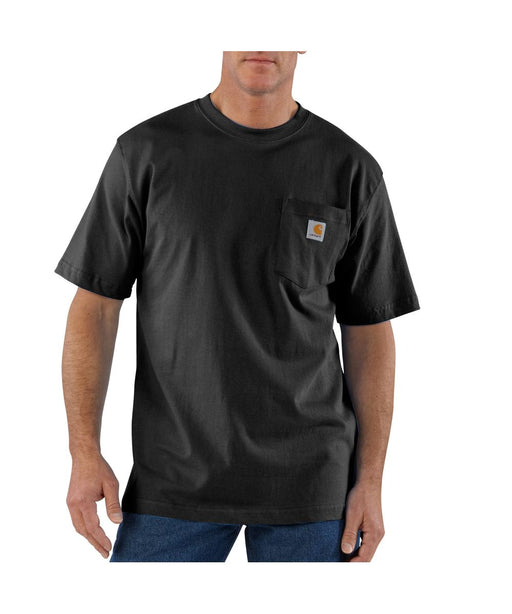 Carhartt K87 Workwear Pocket T-shirt in Black at Dave's New York