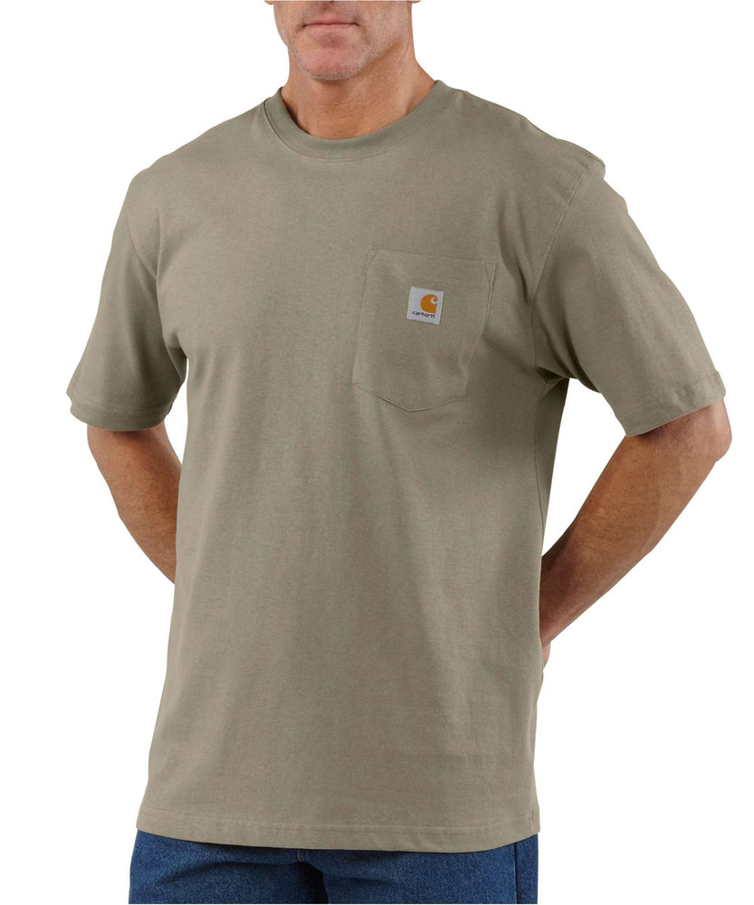 Carhartt K87 Workwear Pocket T-Shirt - Desert