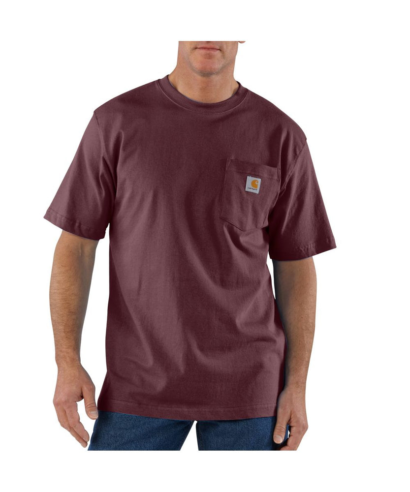 Carhartt K87 Workwear Pocket T-shirt in Port at Dave's New York