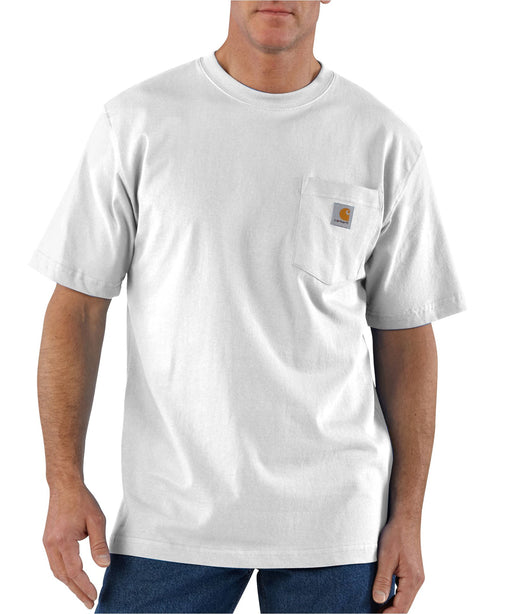 Carhartt K87 Workwear Pocket T-shirt in White at Dave's New York