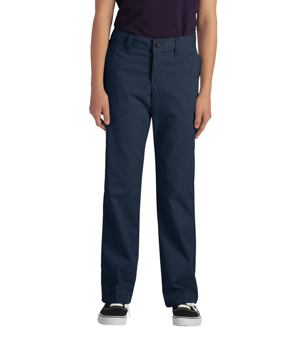 Dickies Girls Stretch Straight Leg Pant - Dark Navy