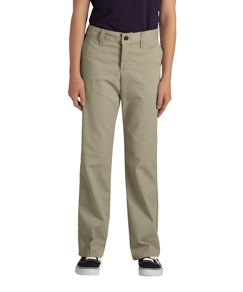 Dickies Girls Stretch Straight Leg Pant (model KP7718) – Desert Sand