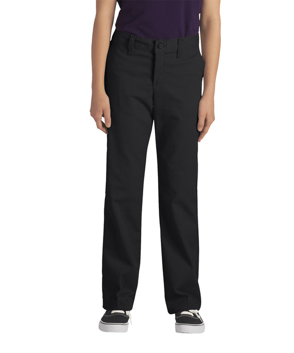 Dickies Girls Stretch Straight Leg Pant (model KP7718) – Black
