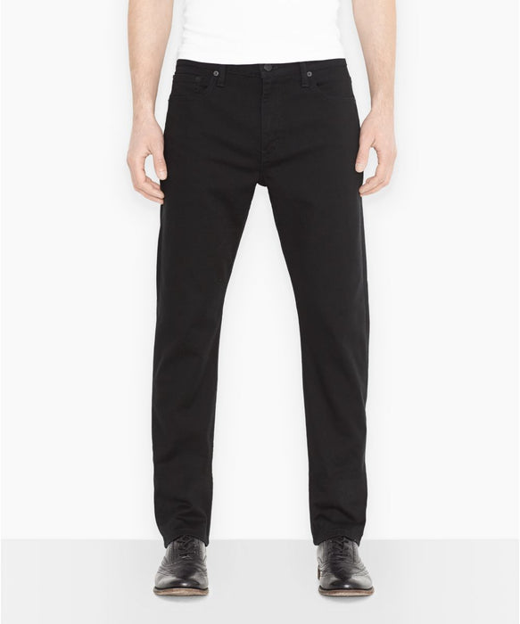 Levi's Men's 513 Slim Straight Fit Jeans in Jet Black at Dave's New York