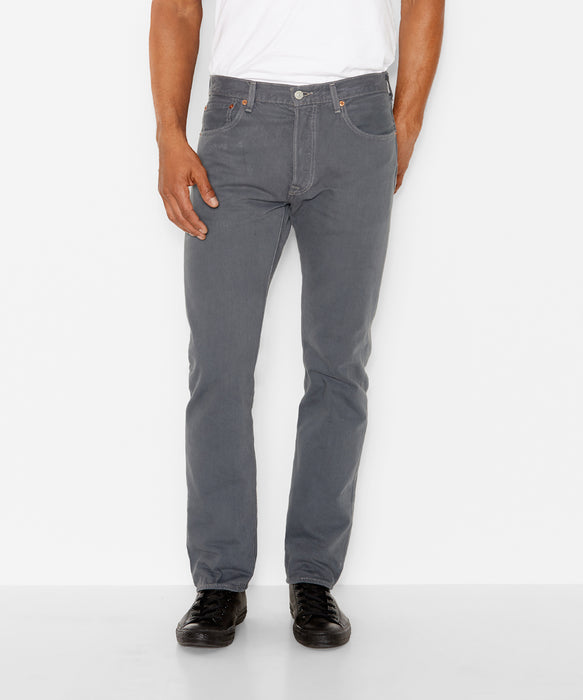 Levi's Men's 501 Original Fit Jeans in Dark Charcoal in Dave's New York