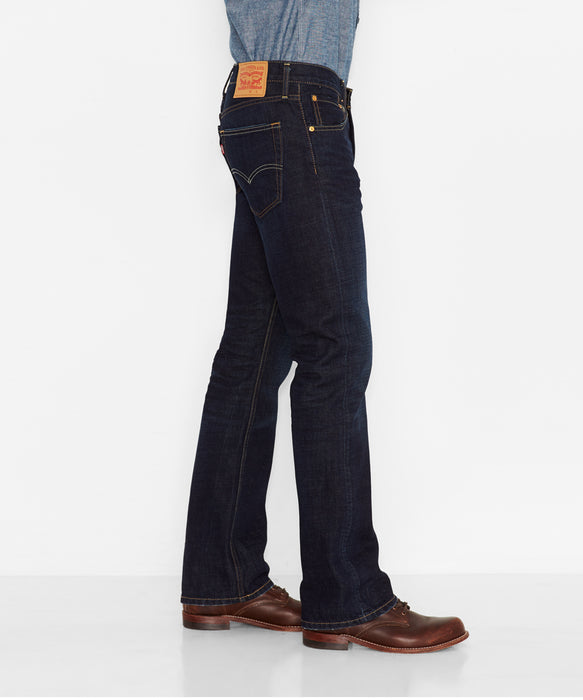 Levi's Men's 527 Slim Fit Boot Cut Jeans - Indigo Black