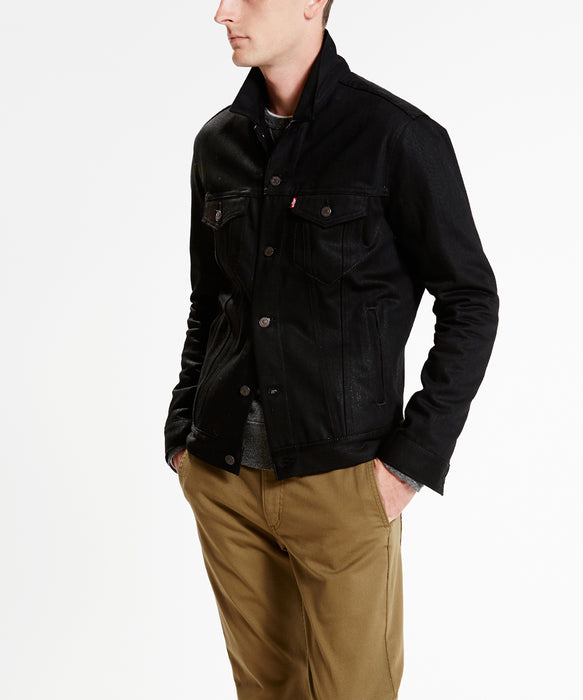 Levi's Men's Denim Jacket 'The Trucker' – Polished Black