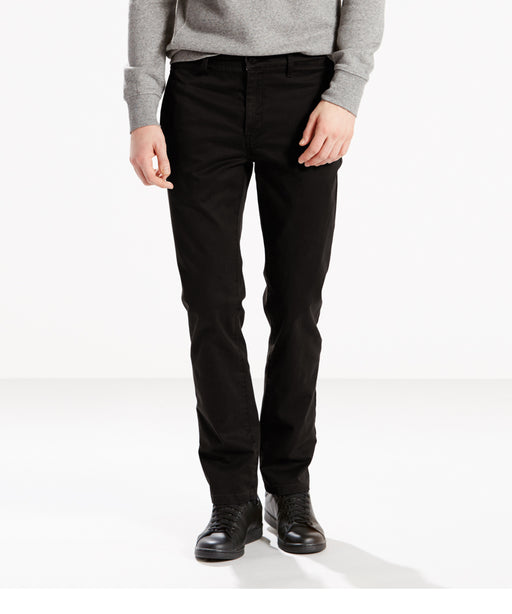 Levi's 511 Slim Fit Chino - Black-Cruz Twill