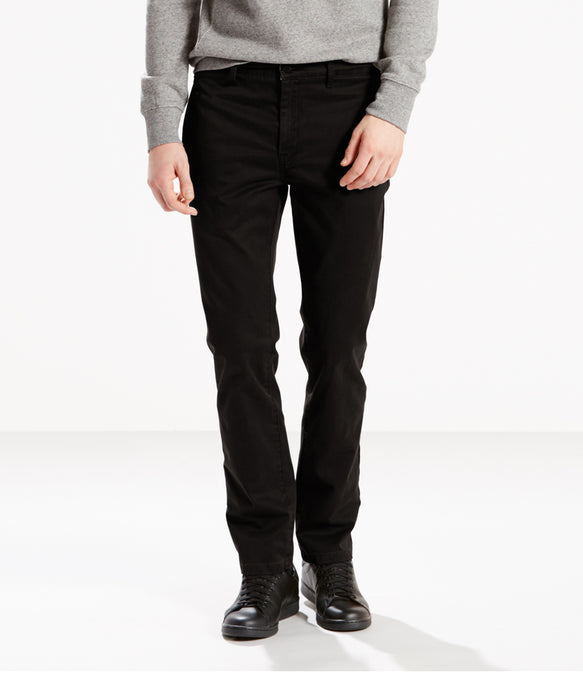 Levi's Men's 511 Slim Fit Chino - Black-Cruz Twill