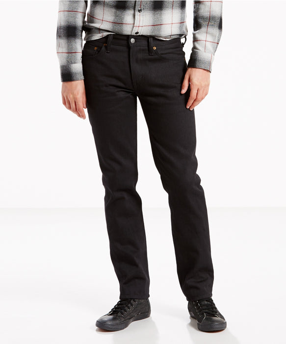 Levi's Men's 511 SLim Fit Jeans (Made in the USA) in Black Denim at Dave's New York