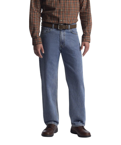 Levi's Men's 550 Relaxed Fit Big & Tall Jeans in Medium Stonewash at Dave's New York
