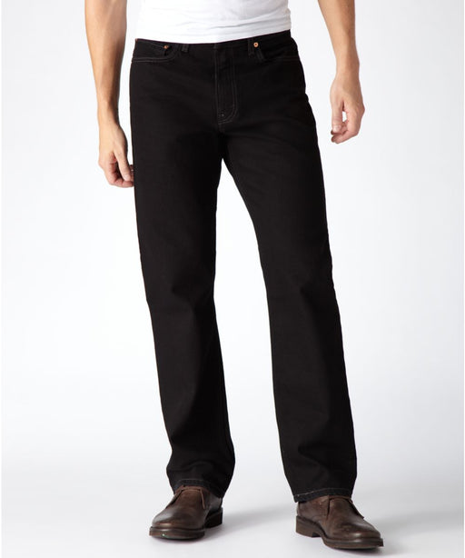 Levi's Men's 550 Relaxed Fit Big & Tall Jeans in Black at Dave's New York