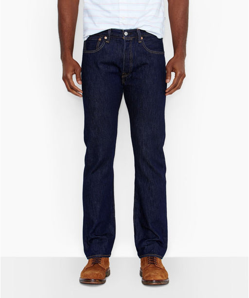 Levi's Men's 501 Original Fit Jeans - Rinsed