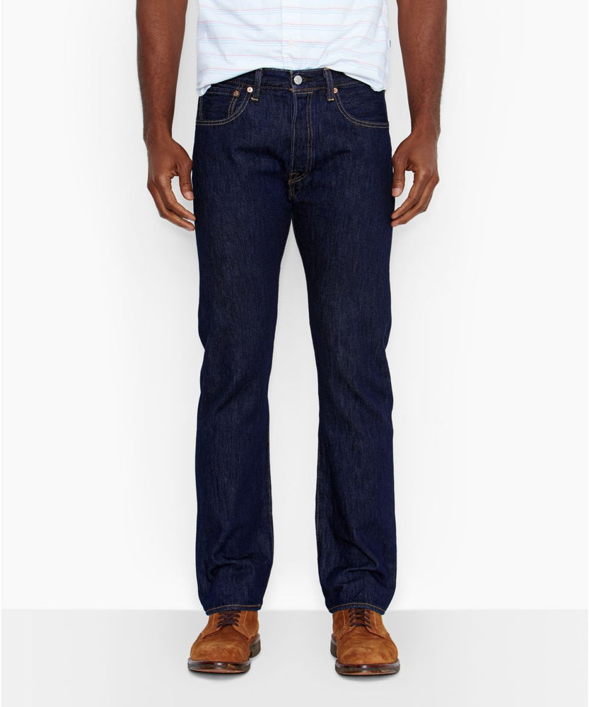 Levi's Men's 501 Original Fit Jeans in Rinsed at Dave's New York