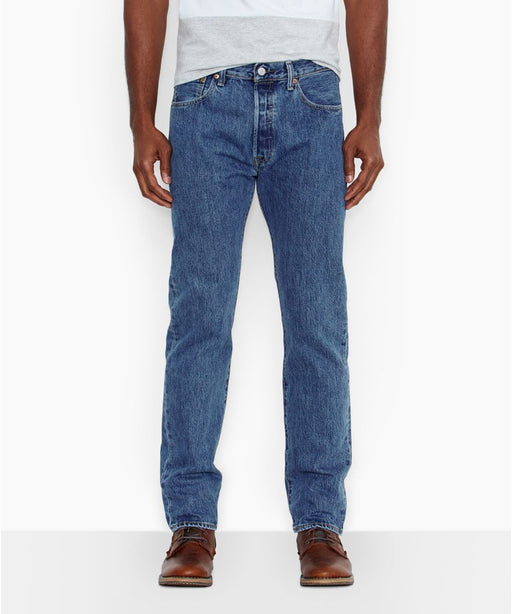 Levi 501 Original Fit Jeans in Medium Stonewash at Dave's New York