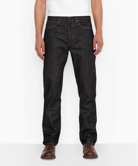 Levi's Men's 501 Original Shrink-To-Fit Jeans in Black Rigid at Dave's New York