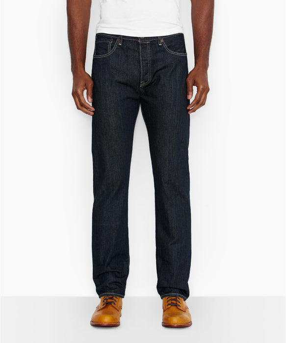 Levi's Men's 501 Original Fit Jeans - Clean Rigid
