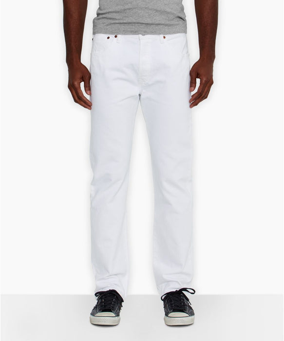 Levi's Men's 501 Original Fit Jeans in White at Dave's New York
