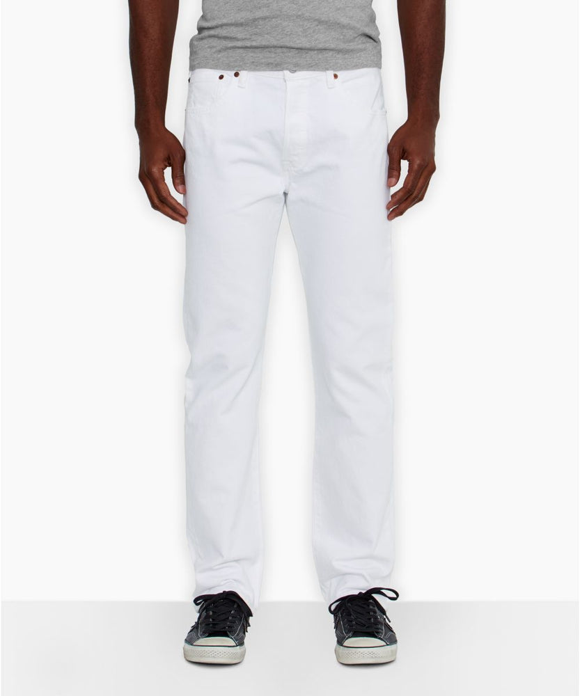 Levi's 501 Original Fit Jeans – White