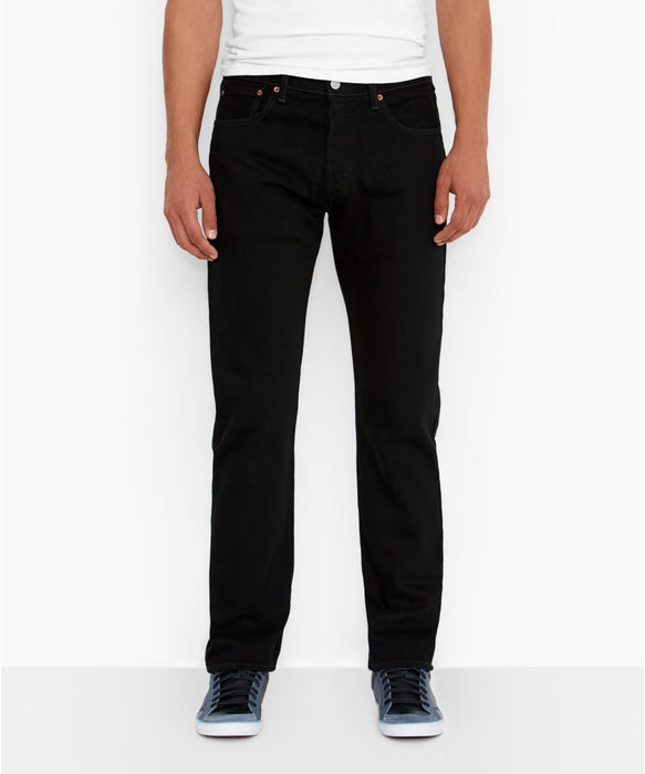Levi's Men's 501 Original Fit Jeans in Black at Dave's New York