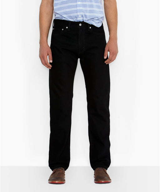 Levi's Men's 505 Regular Fit Jeans in Black at Dave's New York