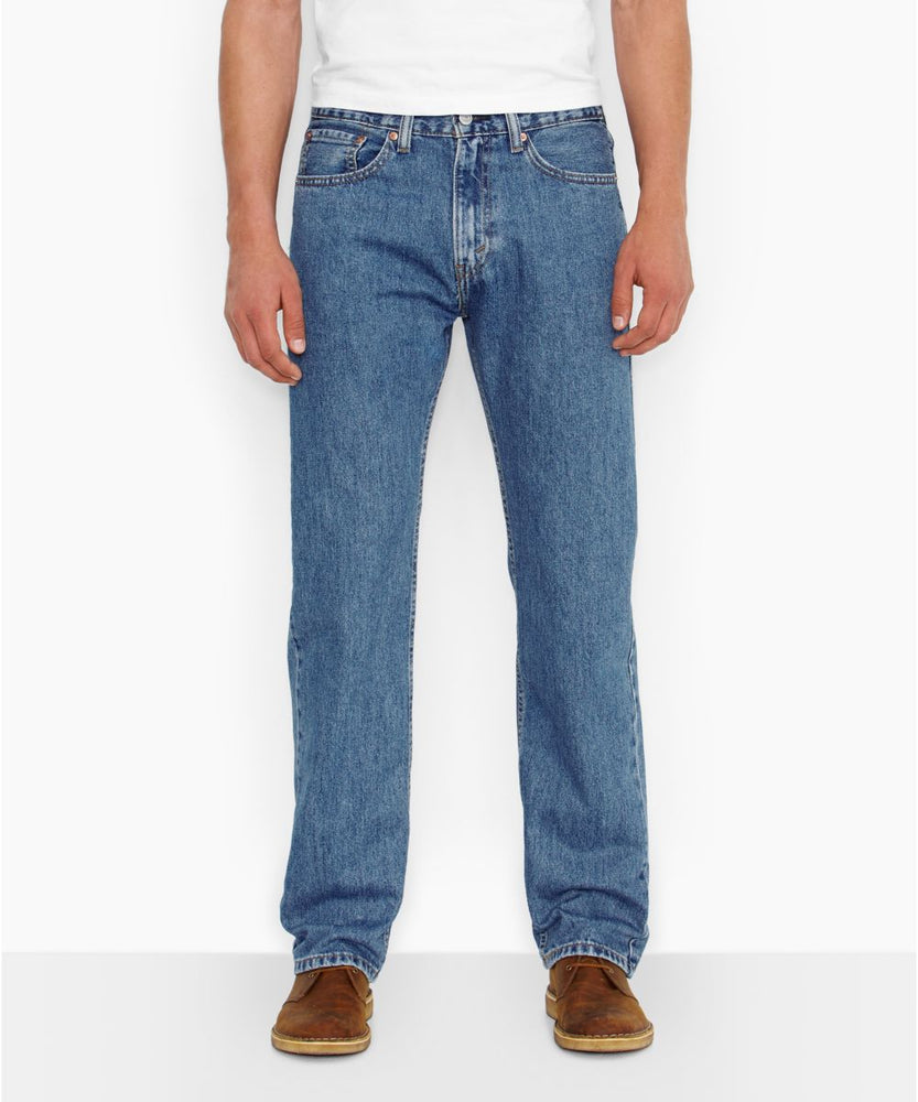 Levi's Men's 505 Regular Fit Jeans in Medium Storewash at Dave's New York