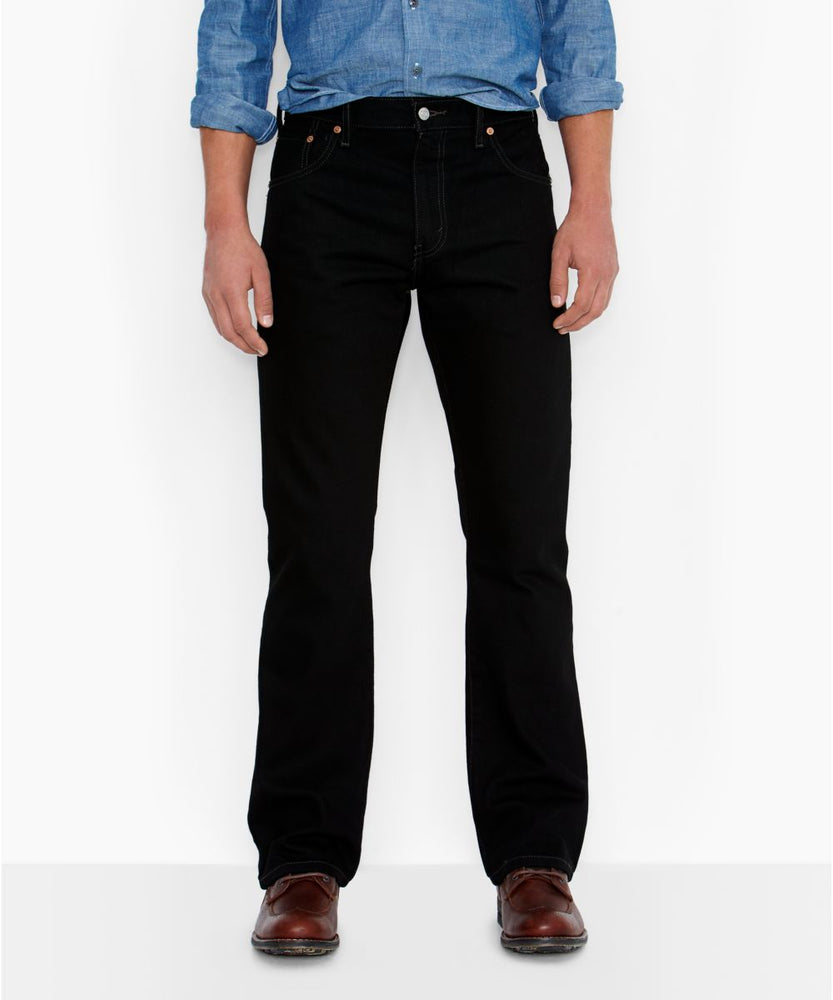 Levi's Men's 517 Boot Cut Jeans in Black at Dave's New York