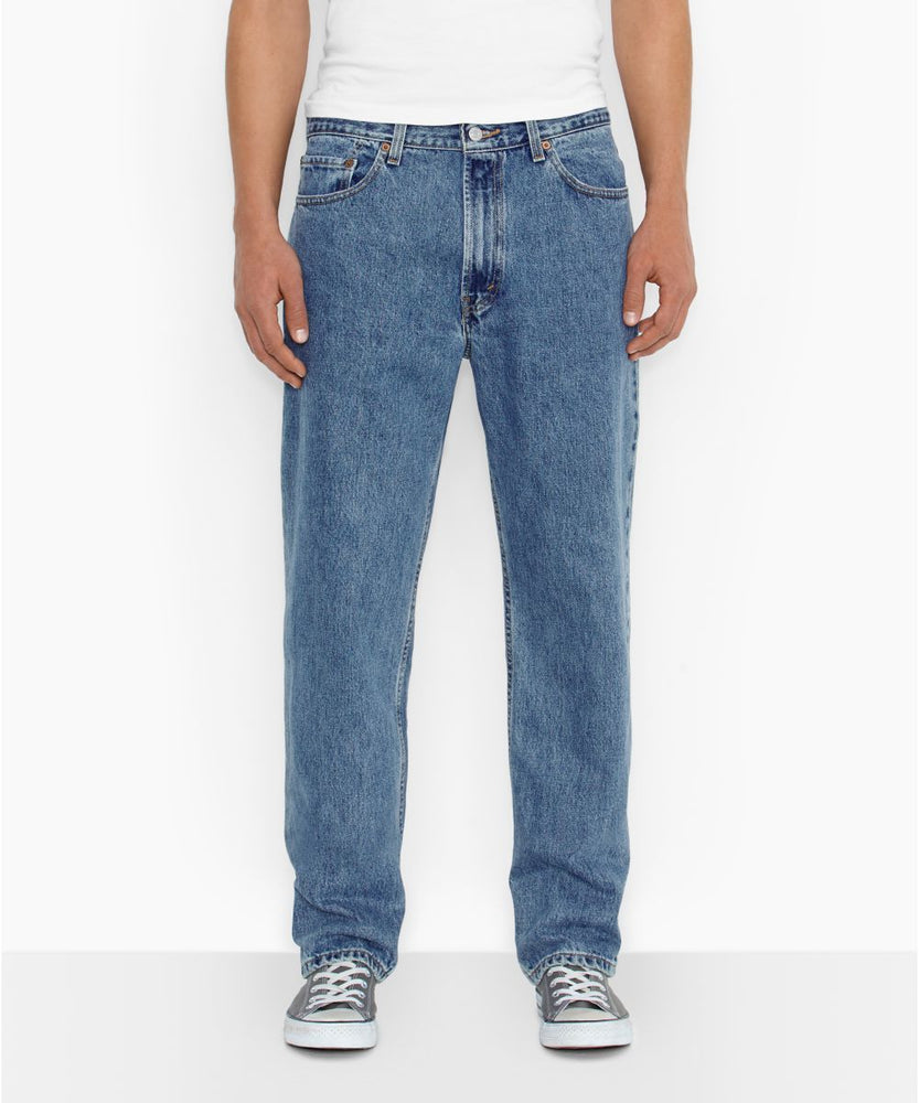 Levi's Men's 550 Relaxed Fit Jeans in Medium Stonewash at Dave's New York