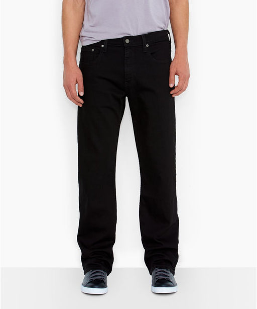 Levi's Men's 569 Loose Straight Fit Jeans in Black at Dave's New York