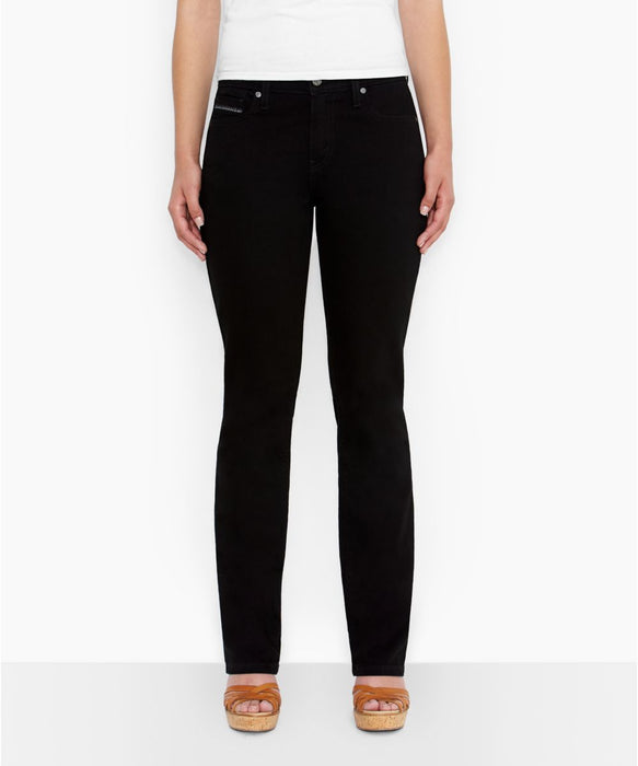 Levi's 505™ Straight Leg Jeans – Black Ink