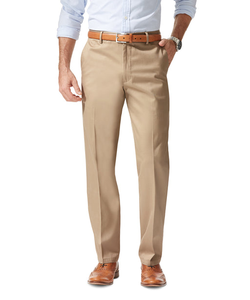 NEW - Dockers Men's Signature Stretch Khaki, Straight Fit - Timberwolf