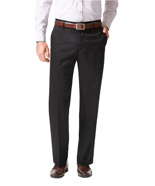 NEW - Dockers Men's Signature Stretch Khaki, Straight Fit - Black