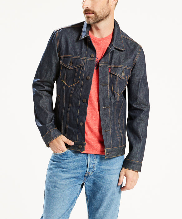 Levi's Men's Trucker Jacket in Rigid Two at Dave's New York