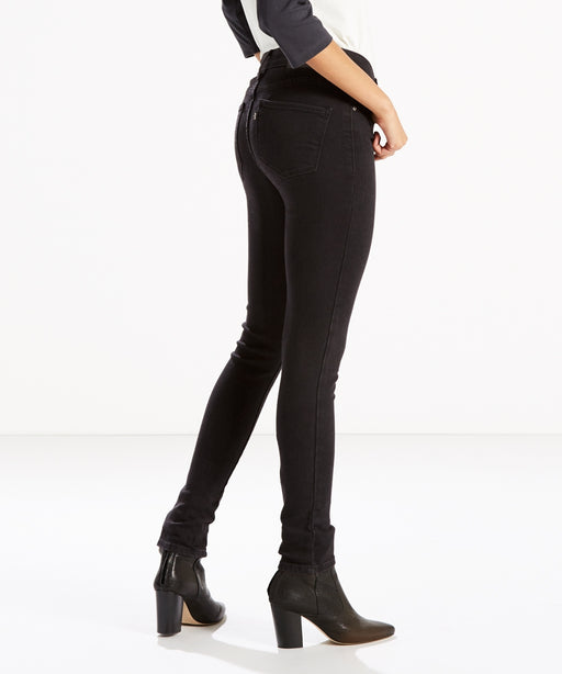 Levi's Women's 721 High Rise Skinny Jeans – Soft Black