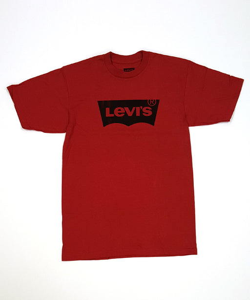 Levi's Men's Batwing Logo Tee Shirt – Cardinal Red