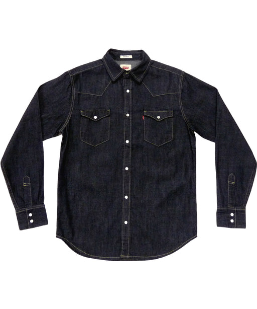 Levi's Barstow Western Denim Shirt – Dark Rinse Blue