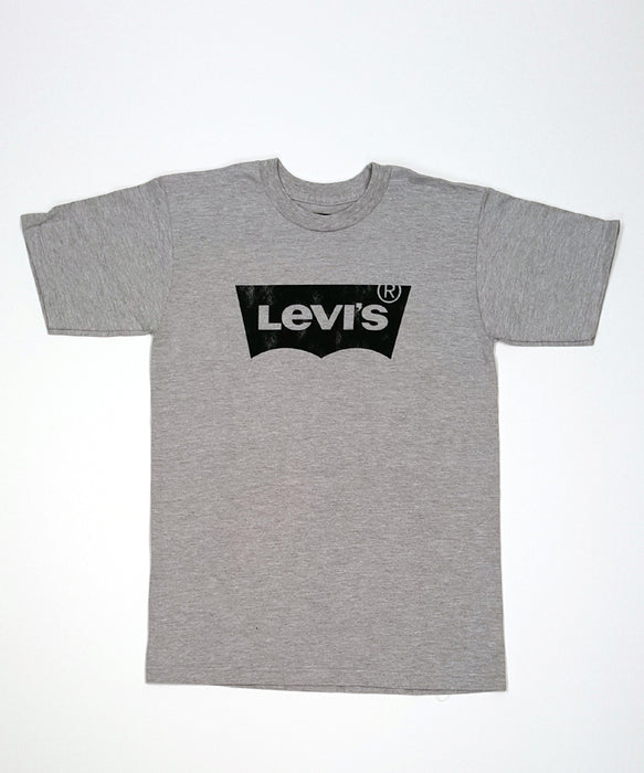Levi's Men's Batwing Logo T-shirt in Heather Grey at Dave's New York