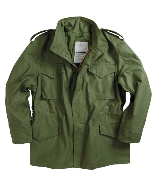 Alpha Industries M-65 Field Coat in Olive Drab at Dave's New York