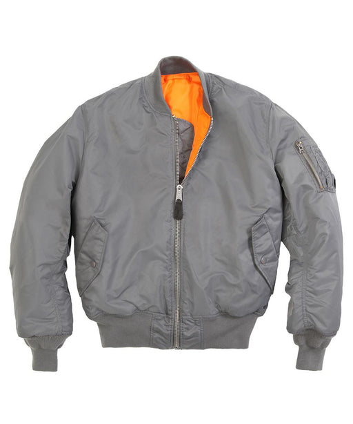 Alpha Industries MA-1 Flight Jacket in Gunmetal Grey