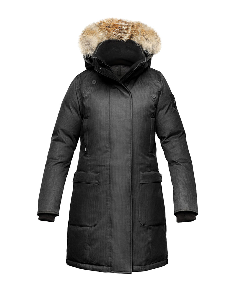Nobis Women's Merideth Down Parka in Black at Dave's New York