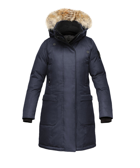 Nobis Women's Merideth Down Parka in Navy at Dave's New York