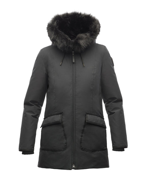 Nobis Women's Mindy Down Parka - Black