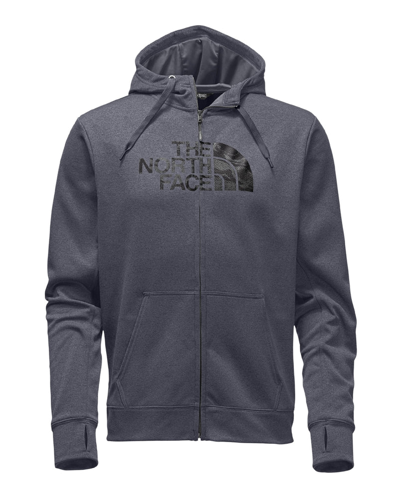 The North Face Men's Surgent Half Dome Full Zip Hoodie – A2TGN – TNF Medium Grey Heather/Asphalt Grey Harris Camo Print