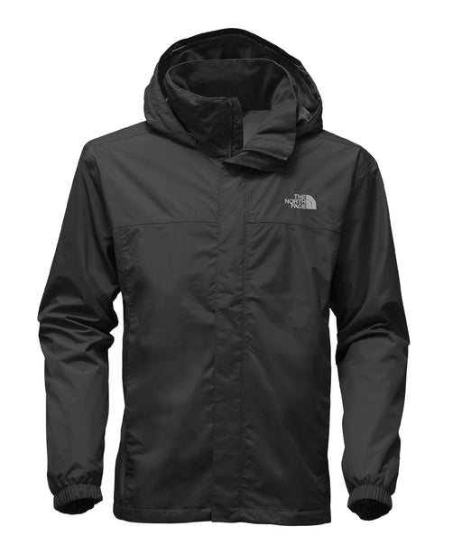 The North Face Men's Resolve 2 Waterproof Rain Jacket in TNF Black at Dave's New York