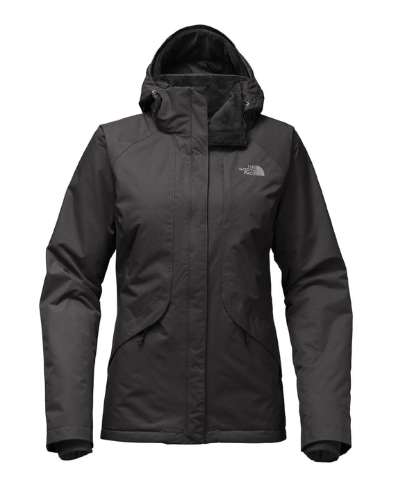 The North Face Women's Inlux Insulated Jacket - A2VEA - TNF Black Heather